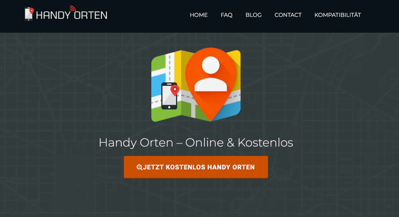 handy verloren orange orten