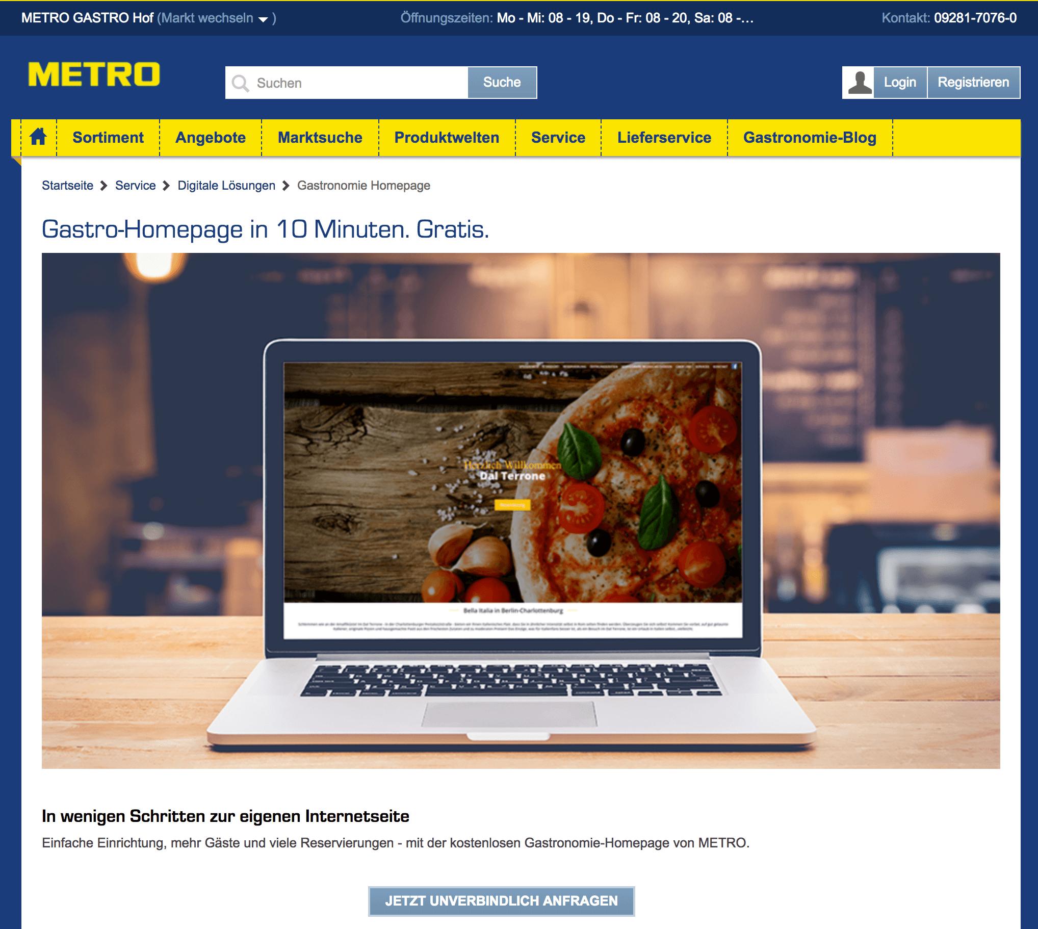 metro-website